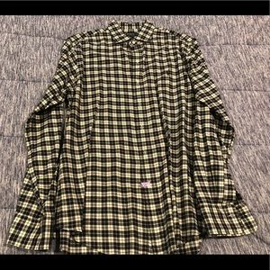 Ralph Lauren Black & White Button Down - Size L